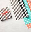 Impression papier cadeau à imprimer