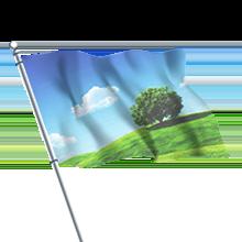 Toiles et drapeaux