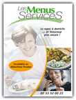 Impression de 1.000 dépliants d'un service de restauration à domicile