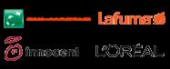 BNP Paribas Fortis, Innocent, Lafuma, L'oréal, Ministère de l'écologie de l'énergie et du développement durable, véjà