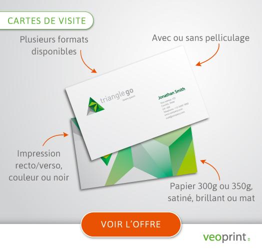Impression Carte De Visite Imprimez Vos Cartes Avec Veoprint