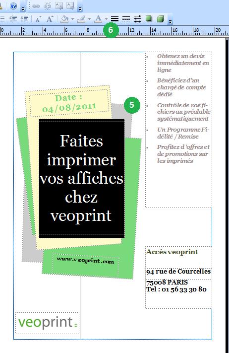 Définir affiche publisher 2007
