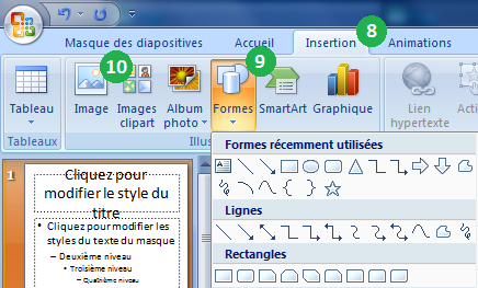 Cr er un d pliant avec powerpoint 2007 - Comment faire une brochure sur open office ...
