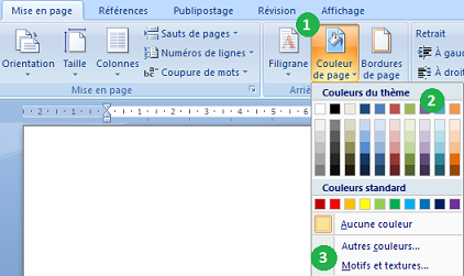 Cr er un d pliant avec word 2007 - Comment faire une brochure sur open office ...