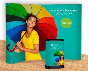 Definition Stand parapluie publicitaire