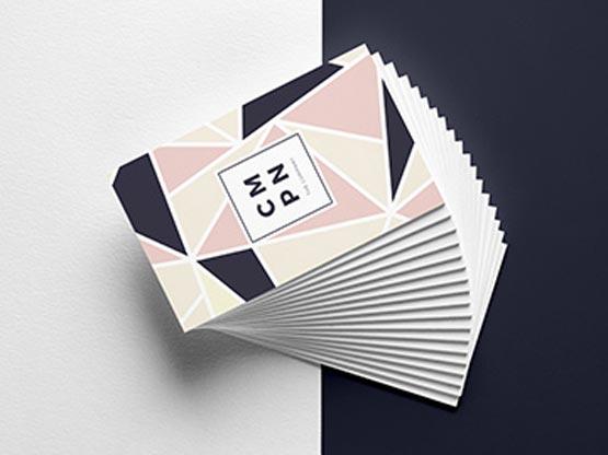 Cartes de visite imprimées