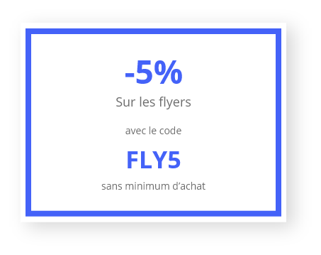 Code promo FLY5 Veoprint