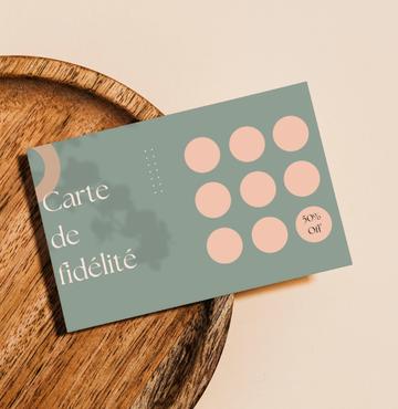 Impression cartes de fidélité