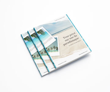 Brochure piquée standard