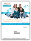 Impression prospectus à imprimer pour une compagnie d'assurances