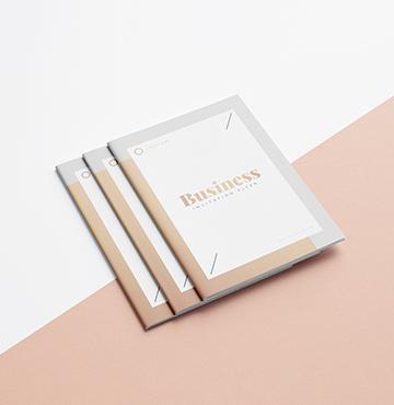 Brochures piquées